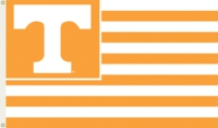 University of Tennessee 3' x 5' Flag with Grommets - Stripes