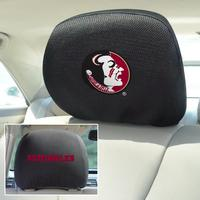 Florida State Seminoles 2-Sided Headrest Covers - Set of 2