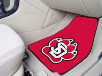 University of South Dakota Coyotes Carpet Car Mats