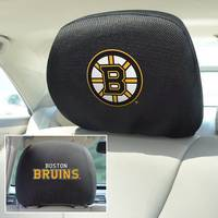 Boston Bruins 2-Sided Headrest Covers - Set of 2
