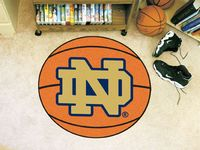 University of Notre Dame Fighting Irish Basketball Rug