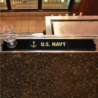 United States Navy Drink/Bar Mat