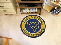 "West Virginia University Mountaineers 27"" Roundel Mat"
