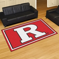 Rutgers Scarlet Knights 5x8 Rug