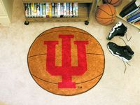 Indiana University Hoosiers Basketball Rug