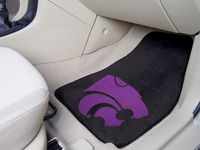Kansas State University Wildcats Carpet Car Mats