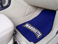 Marquette University Golden Eagles Carpet Car Mats