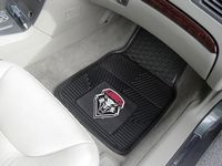 University of New Mexico Lobos Heavy Duty Vinyl Car Mats