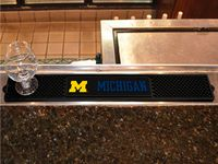 University of Michigan Wolverines Drink/Bar Mat