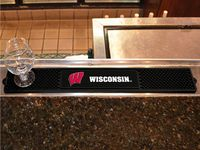 University of Wisconsin-Madison Badgers Drink/Bar Mat