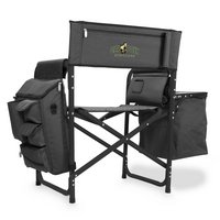 Cal Poly Mustangs Fusion Chair - Black