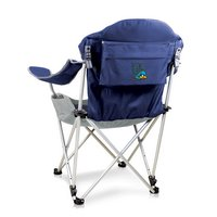 University of Delaware Reclining Camp Chair - Navy