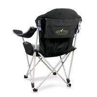 Cal Poly Mustangs Reclining Camp Chair - Black