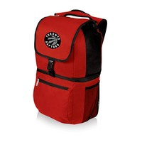 Toronto Raptors Zuma Backpack & Cooler - Red