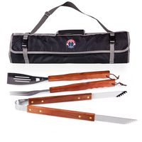 Washington Wizards 3 Piece BBQ Tool Set With Tote