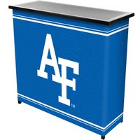 Air Force Falcons Portable Bar with 2 Shelves