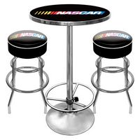 NASCAR Game Room Combo - 2 Bar Stools and Table